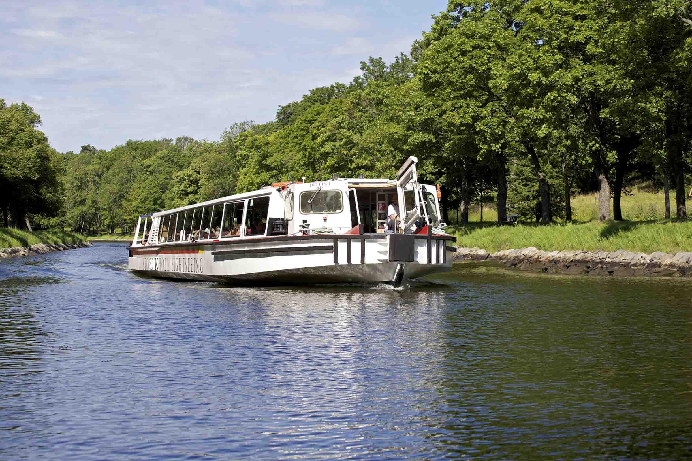 Båtutflykt Djurgården runt