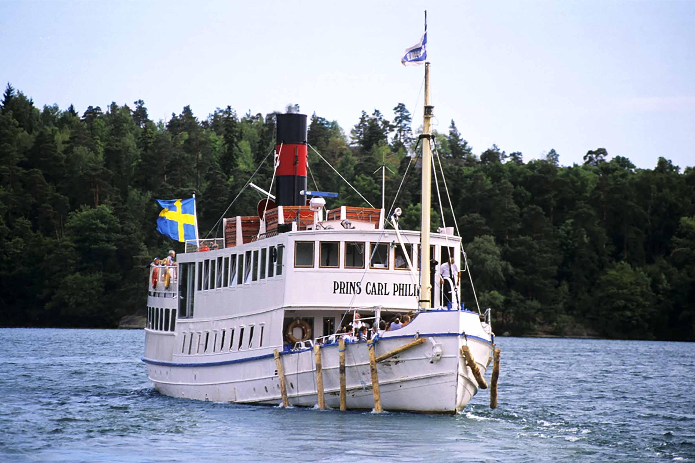 Båtutflykt till Fjäderholmarna