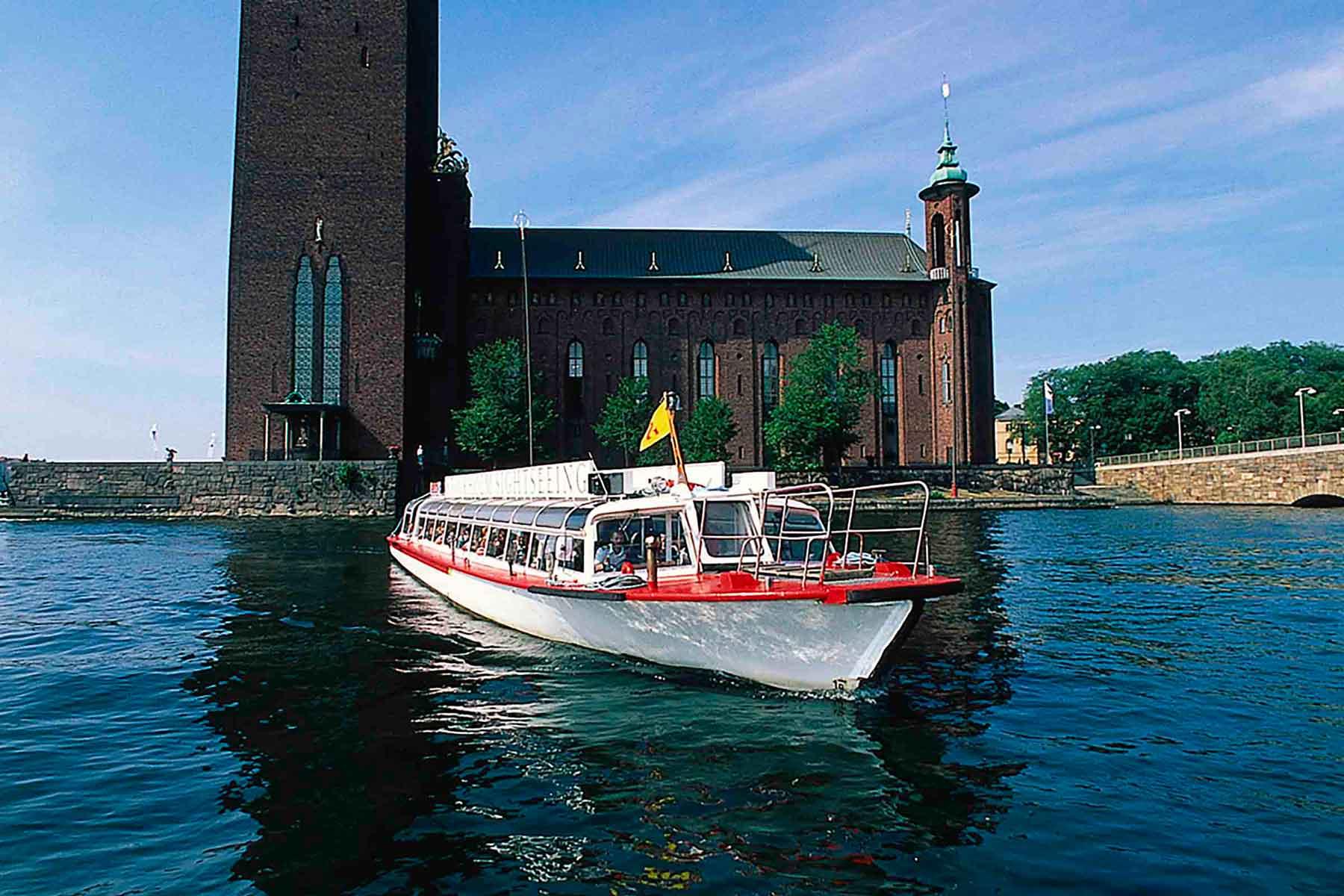 Båtutflykt Kungsholmen runt