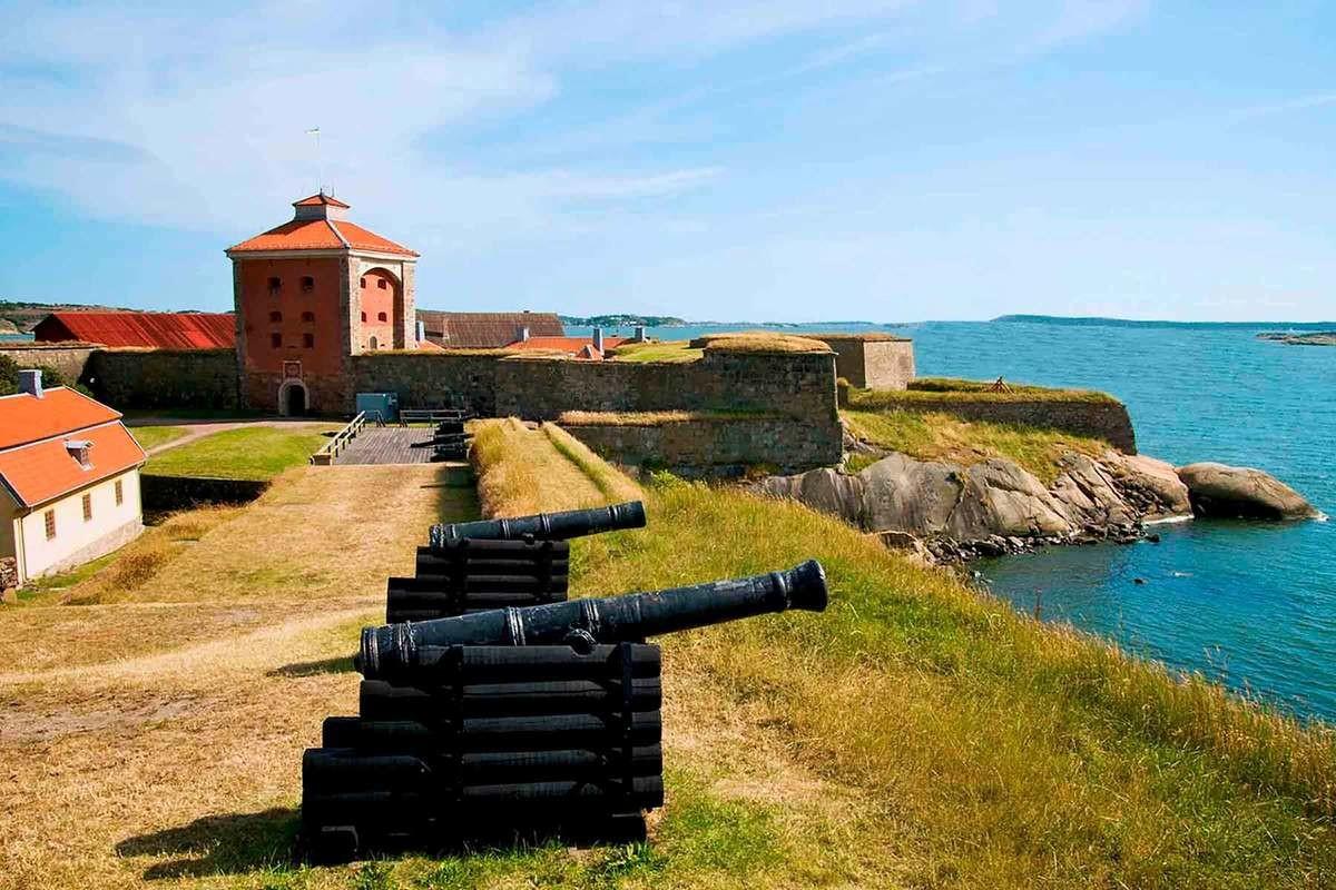 Båtutflykt Nya Älvborgs fästning