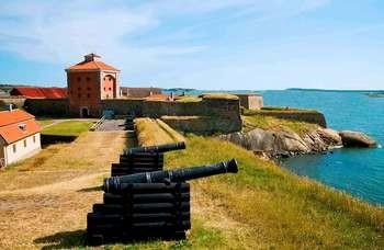 Båtutflykt till Nya Älvborgs fästning
