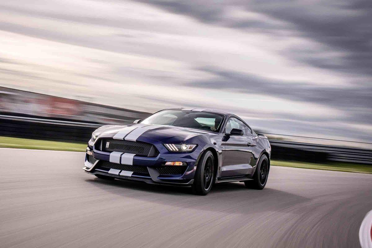 Speedtest med Ford Mustang