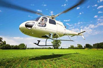 Provflyg en Helikopter