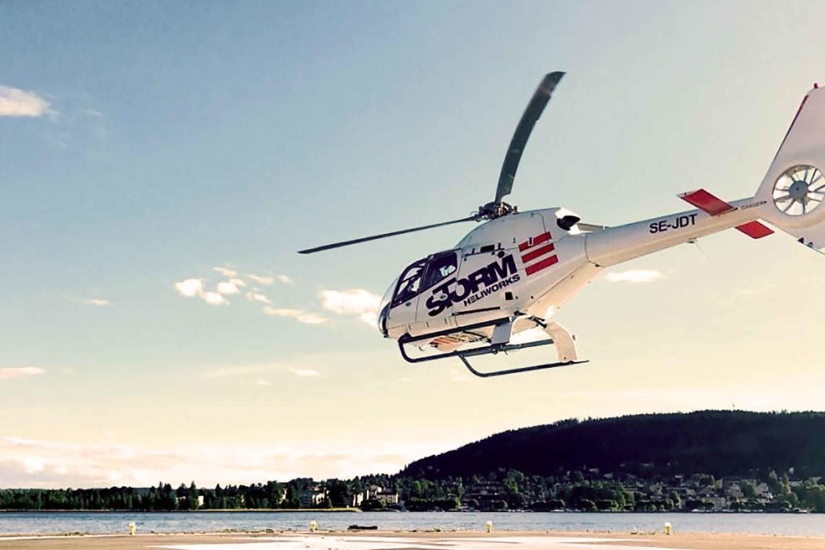 Helikoptertur Göteborg