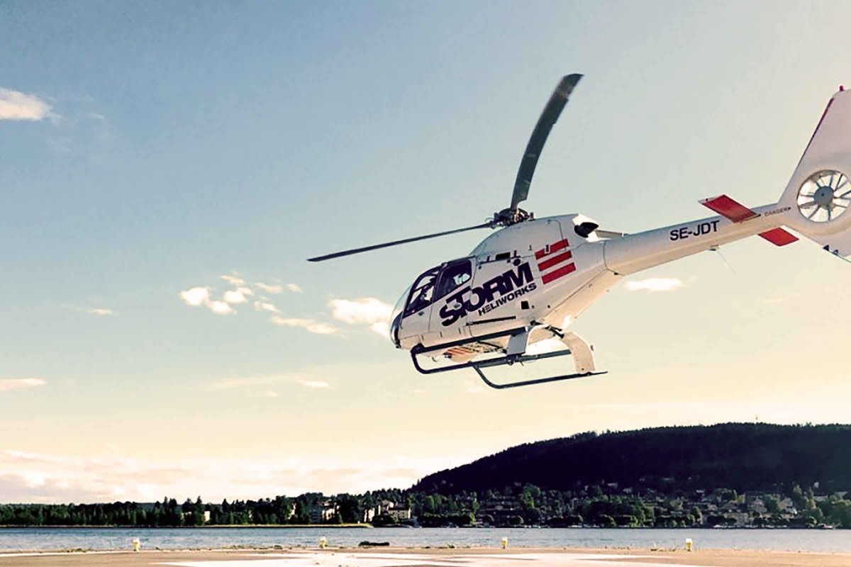 Helikoptertur Göteborg för två