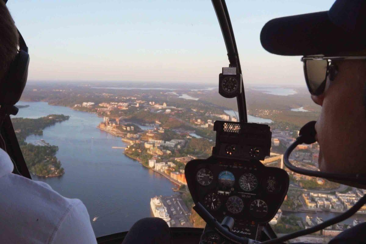 Helikoptertur Malmö