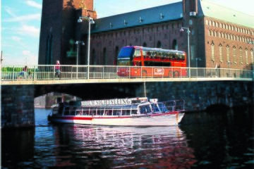 Hop On - Hop off med båt och buss