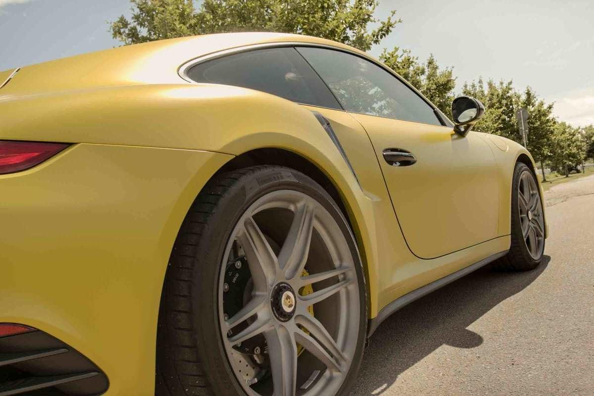 Kör Porsche 991.2 Turbo S med 700 hk