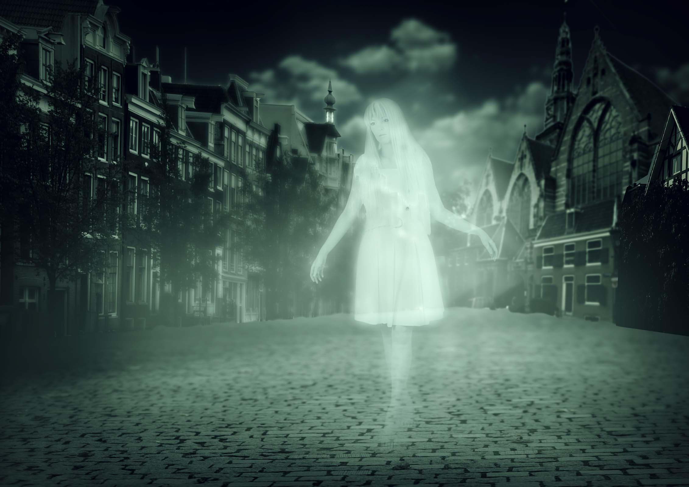 Spökvandring med middag