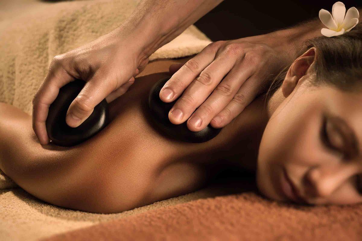 Massagekurs med Heta Stenar för två