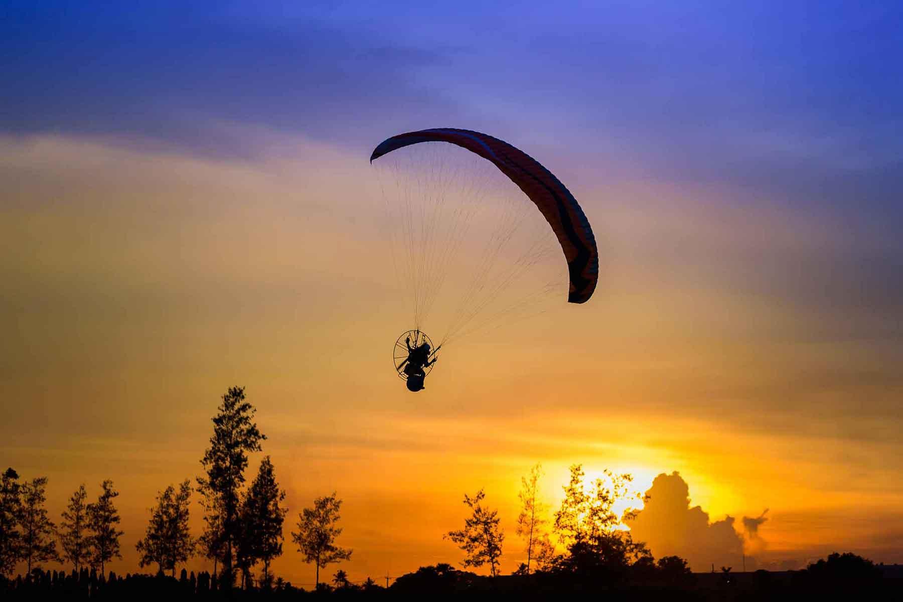 Flyg Paramotor