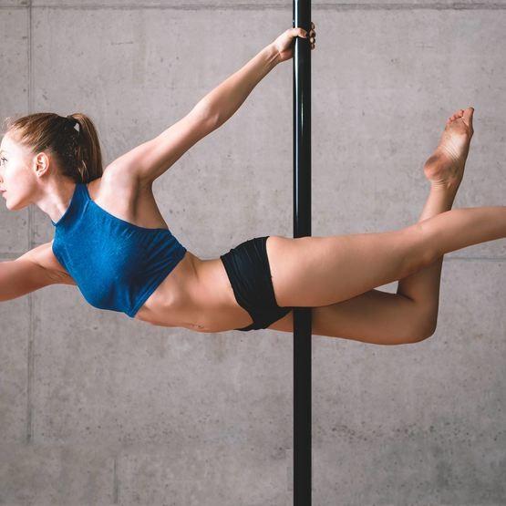 Prova på Poledance för två