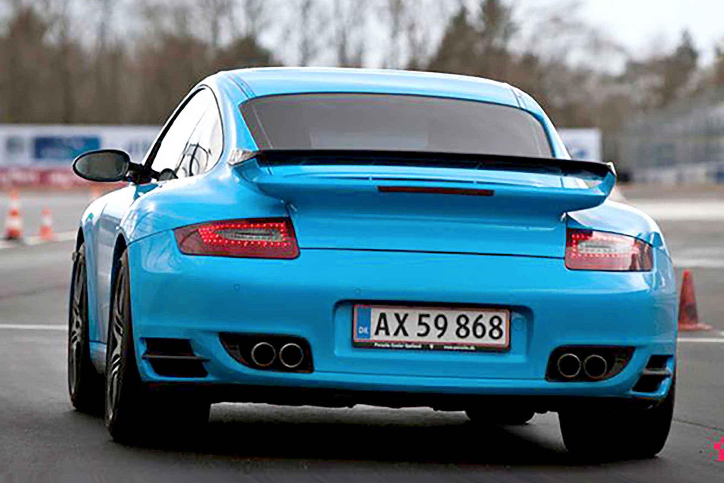 Kör Porsche 911 Turbo på Racingbana