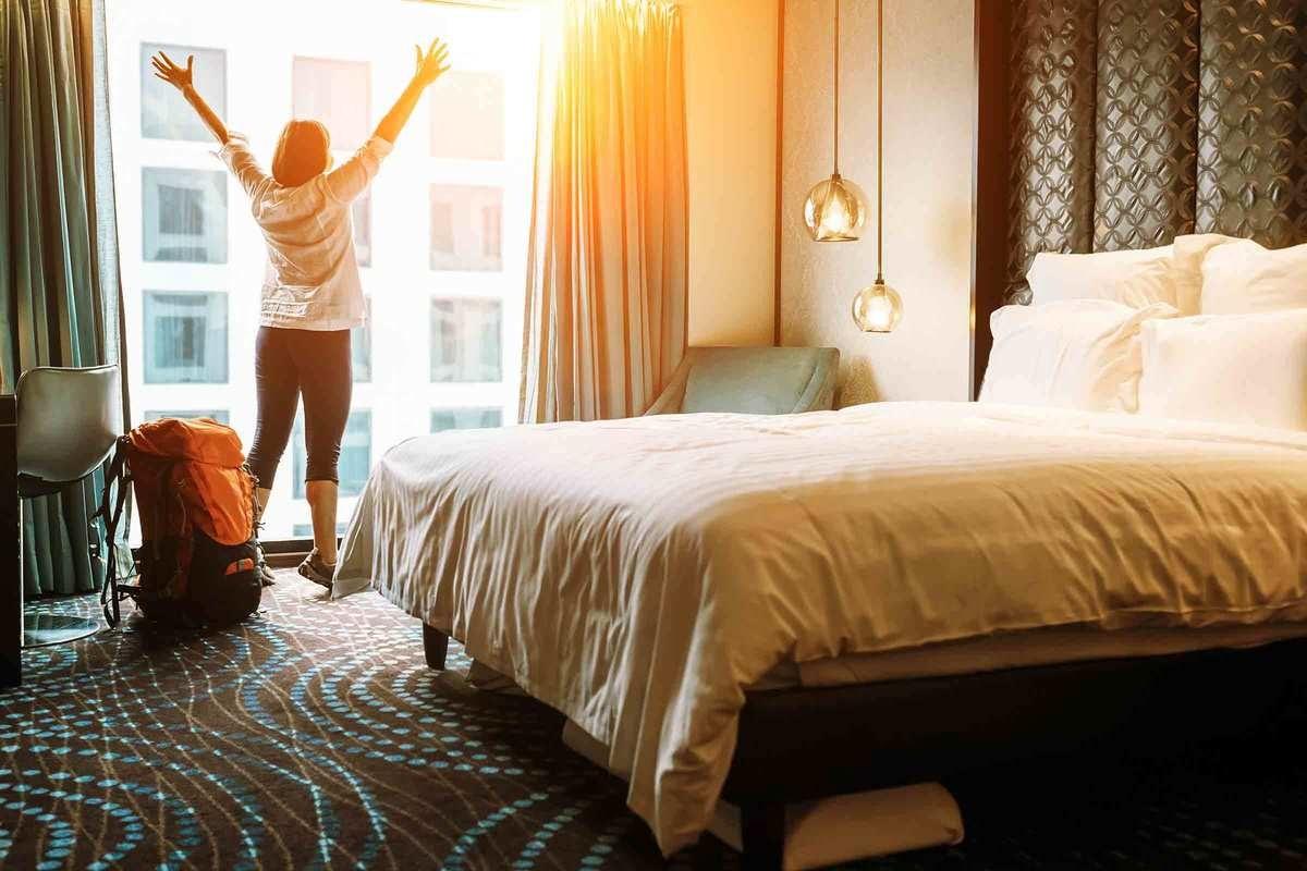 Lyxig Hotellövernattning för två