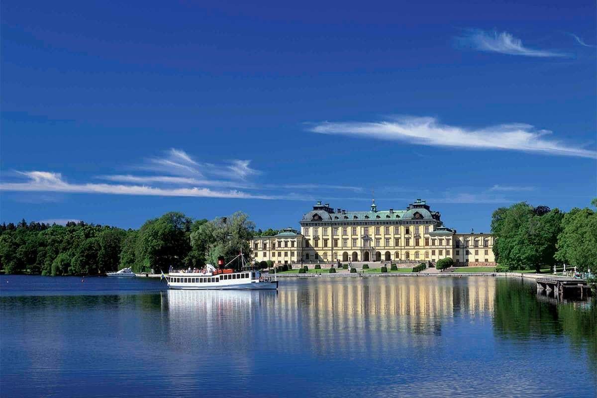 Skärgårdstur med lunch till Drottningholm