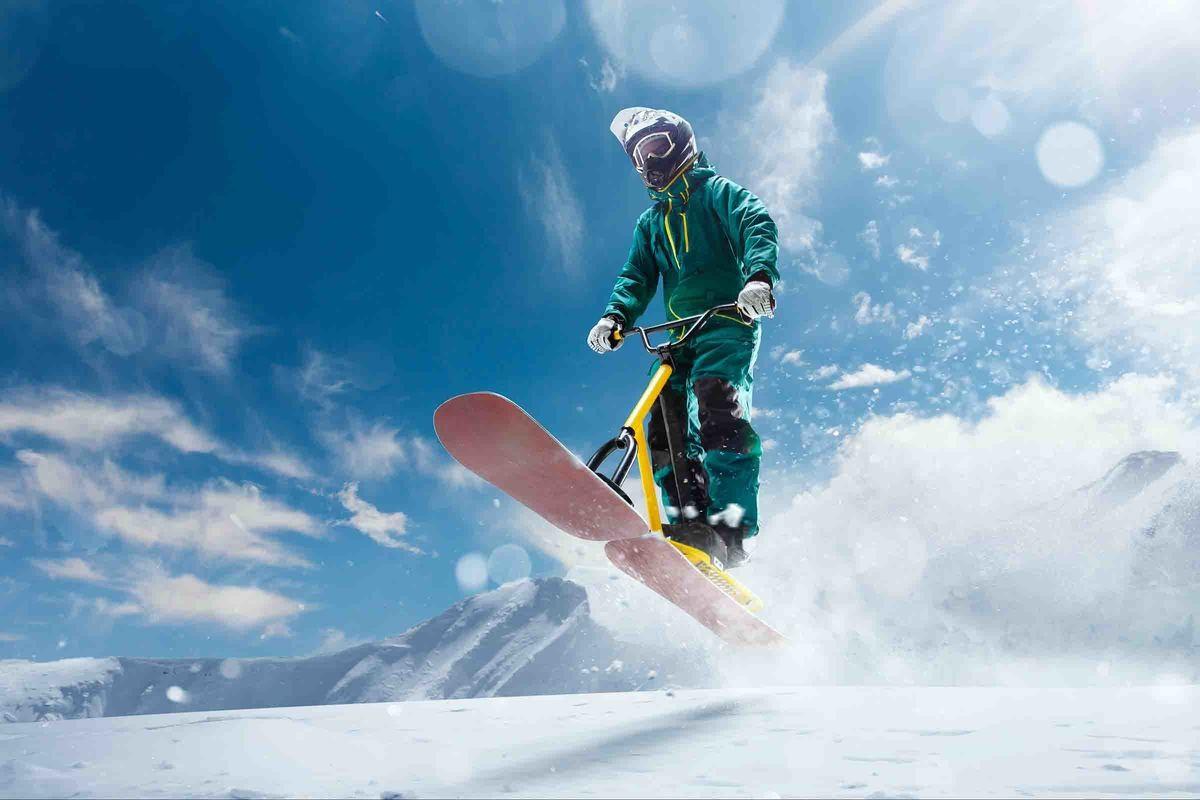 Snowbike Kurs