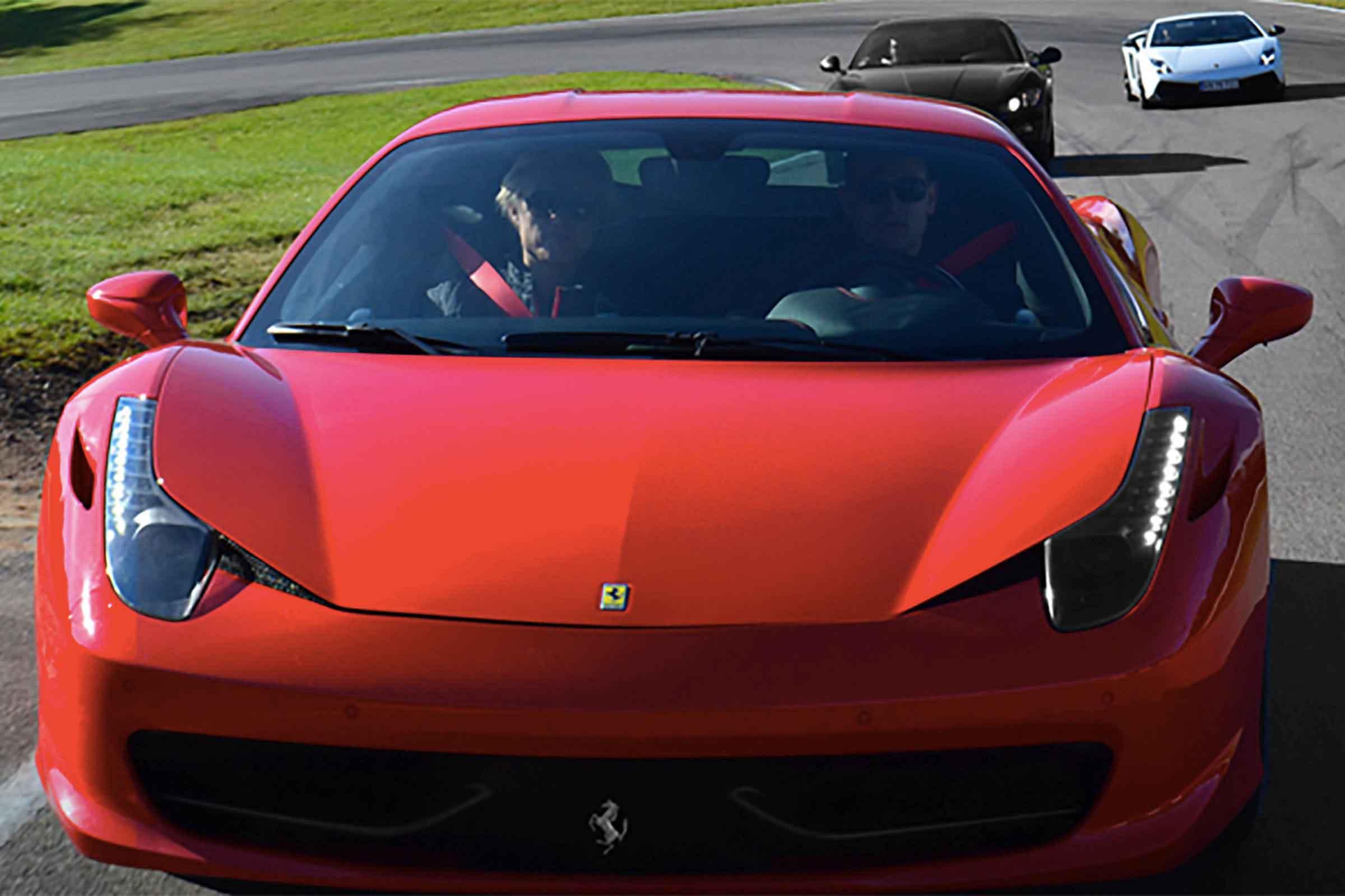 Kör Supersportbil på Racingbana