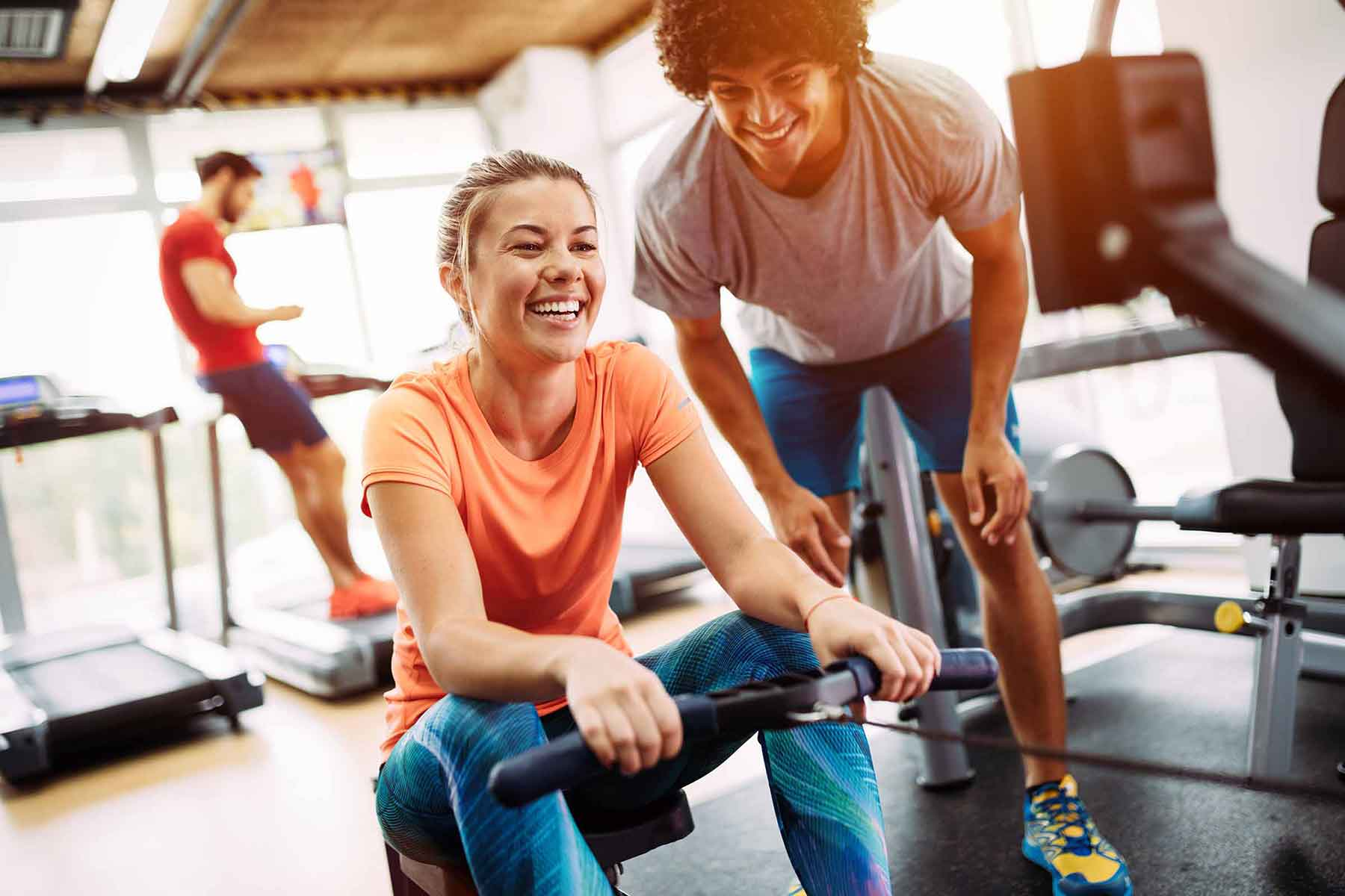 Träna på Gym