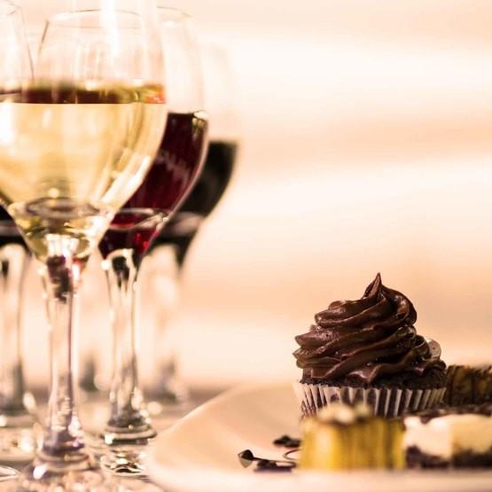 vin och chokladprovning