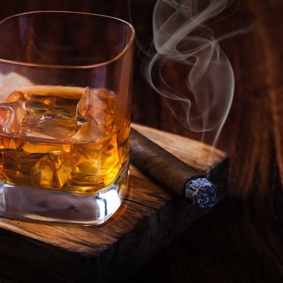 Cigarr och Whiskyprovning för två